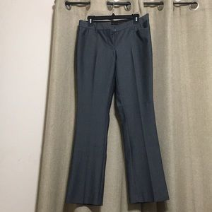 Express grey pin stripped dress pants